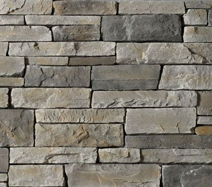 Cultured Stone Echo Ridge Country Ledgestone colour swatch ...