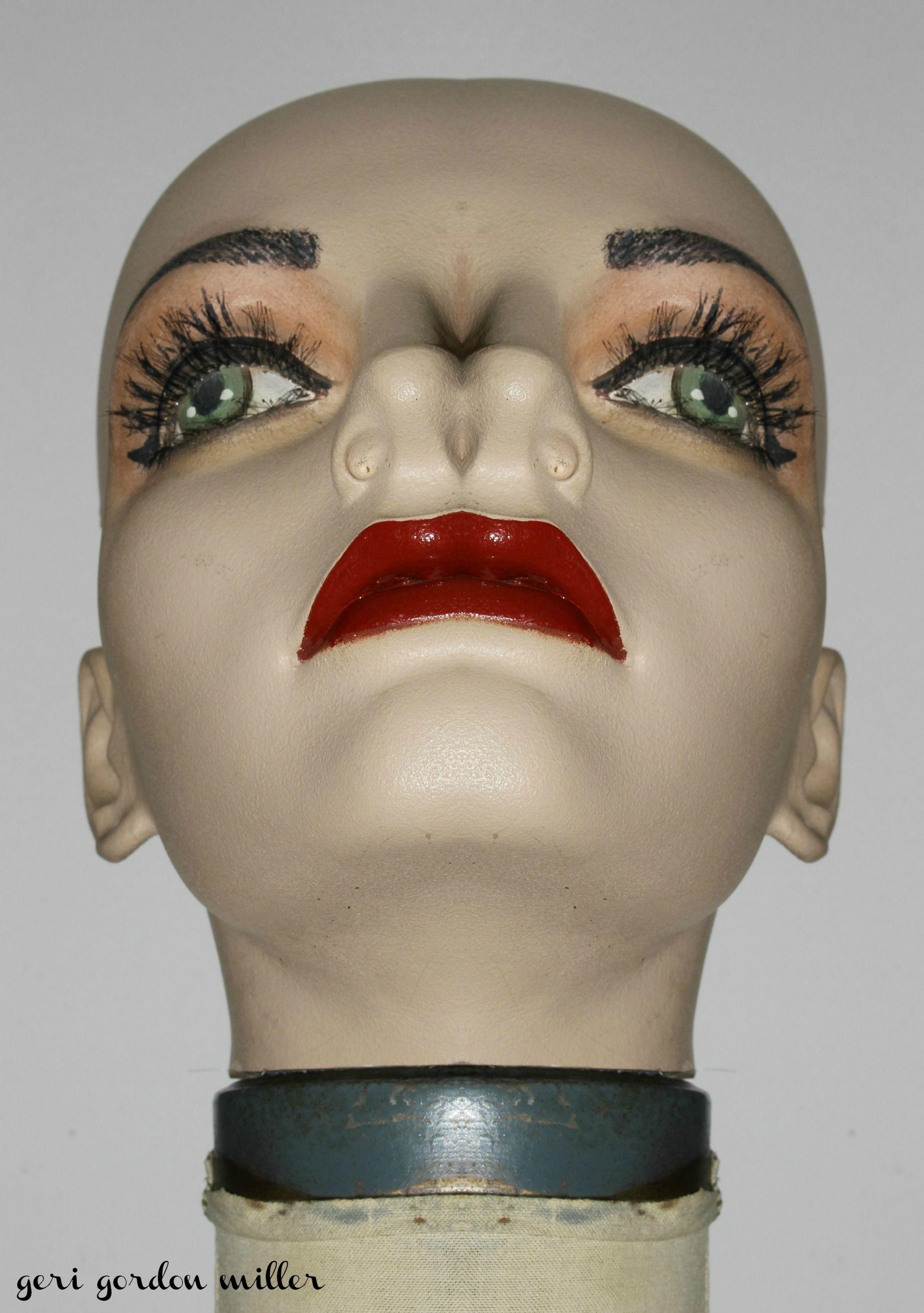 #2Noses #MannequinHead #VintageMannequin