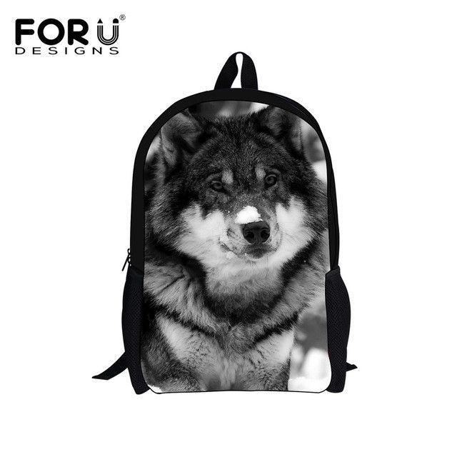 8f0a4e9ed9fd FORUDESIGNS Supreme Customize Backpack Cute Animal Panda Printing Children  School Backpack Teenager Boys Girls Rucksack Book Bag