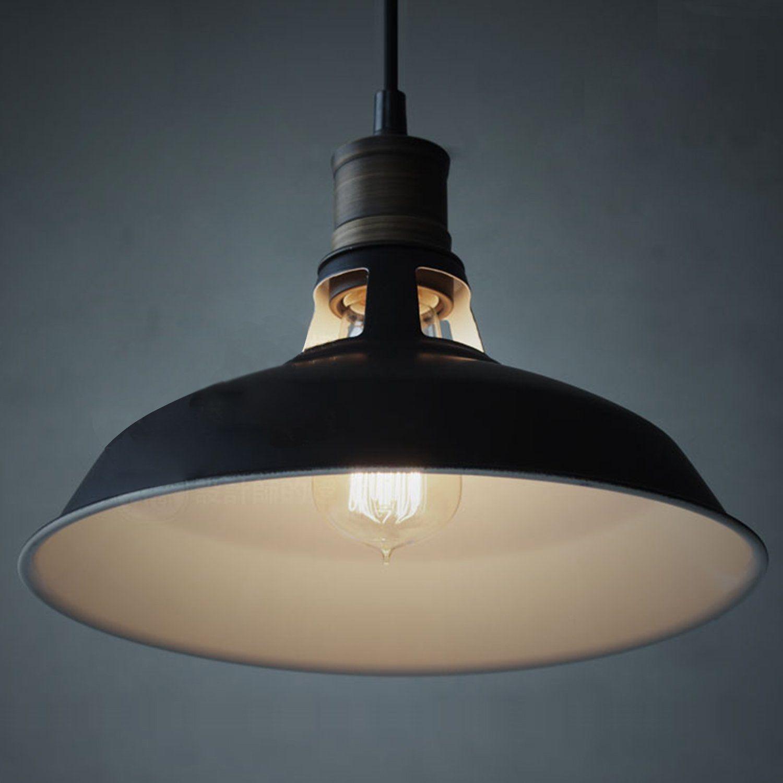Ecopower Industrial Barn Mini Metal Pendant Light 1 Light Ceiling