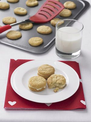 Lemon Cream Biscuits recipe - Ideal for a teatime or party snack. Delicious with or without the cream filling. http://circulon.uk.com/your-circulon/free-recipe-lemon-cream-biscuits/