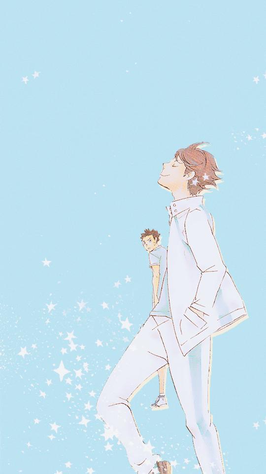 Kurooichi Haikyuu Anime Oikawa Anime Wallpaper