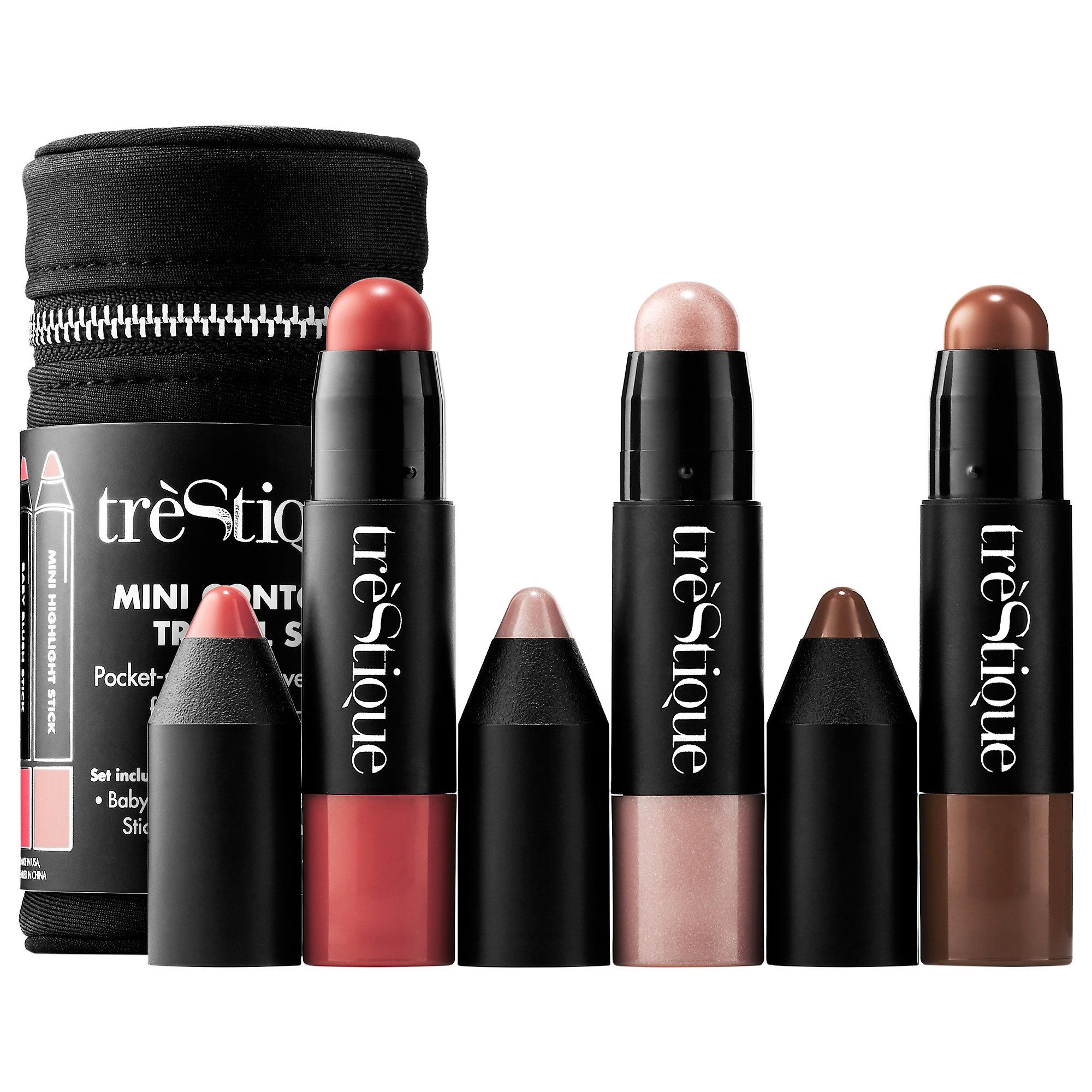 Shop trèStiQue's Mini Contour Travel Set at Sephora. It