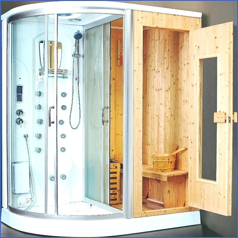 2 Person Steam Shower Sauna Combo At Home Google Search Sauna Bathroom Design Sauna Shower Bathroom Design