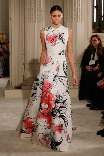Mixed Silk Dress with Frill Frühling/Sommer Valentino Exklusive Online Große Diskont Günstiger Preis 100% Original Günstig Online Shop Für Günstige Online NI58wr7