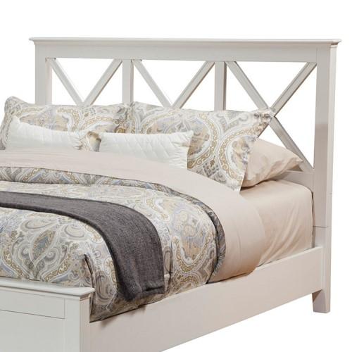 Alpine Furniture Potter Headboard, White