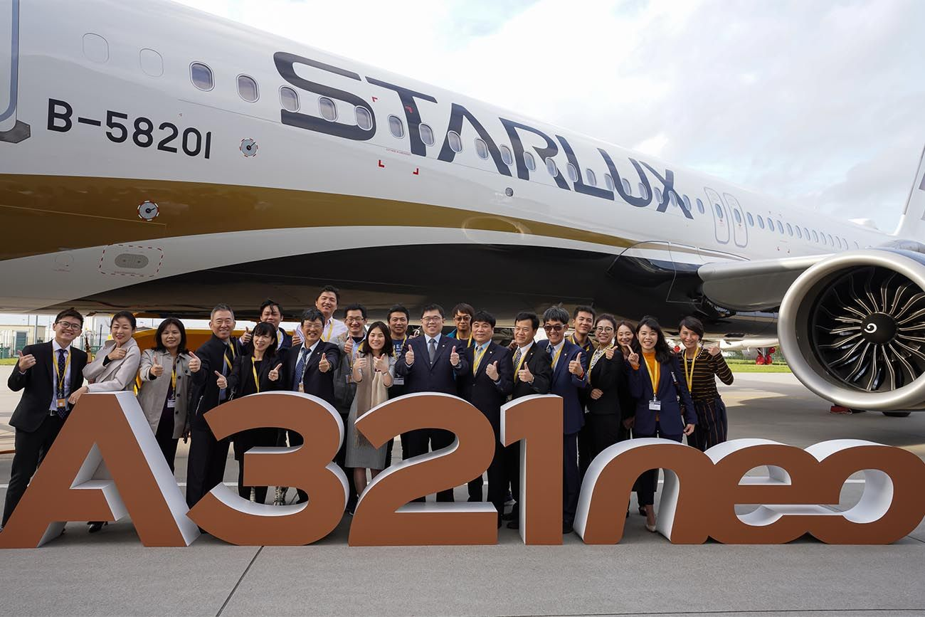 Starlux Airlines Takes Delivery of Its First Airbus