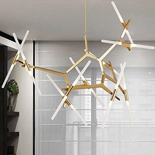 WanDun Moderne Kronleuchter Nach Aluminiumlegierung Designer Lampe - led lampen wohnzimmer