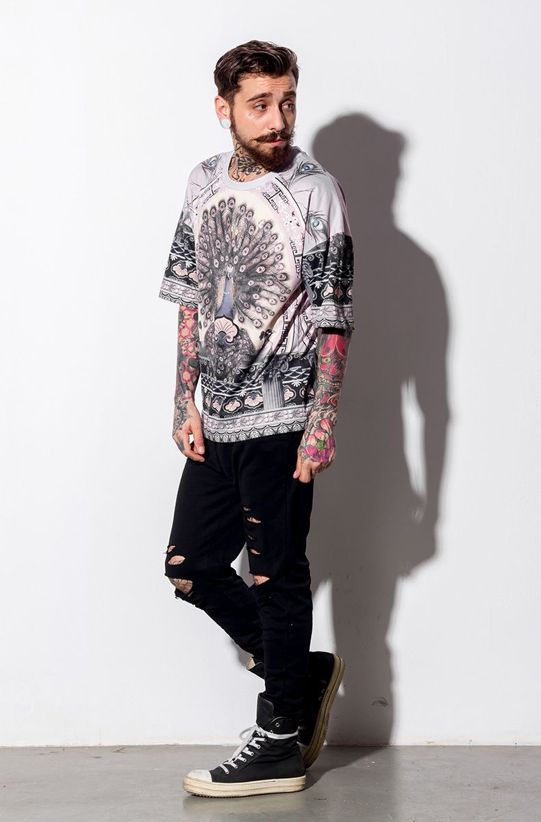 FGSS men's summer new cloth,Men's Printed T-Shirt,Street style T-Shirt,get it with $18.9.