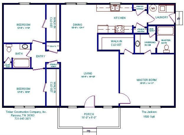 Mobile Home Plans 1500 Sq Ft Floor Plans For 1000 Sq Ft Cabin 500 To 799 Sq Ft Manufactured H House Plans Manufactured Homes Floor Plans House Floor Plans