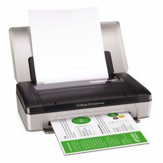 Impresora Hp Officejet 100 Con Bluetooth Bateria Y Usb
