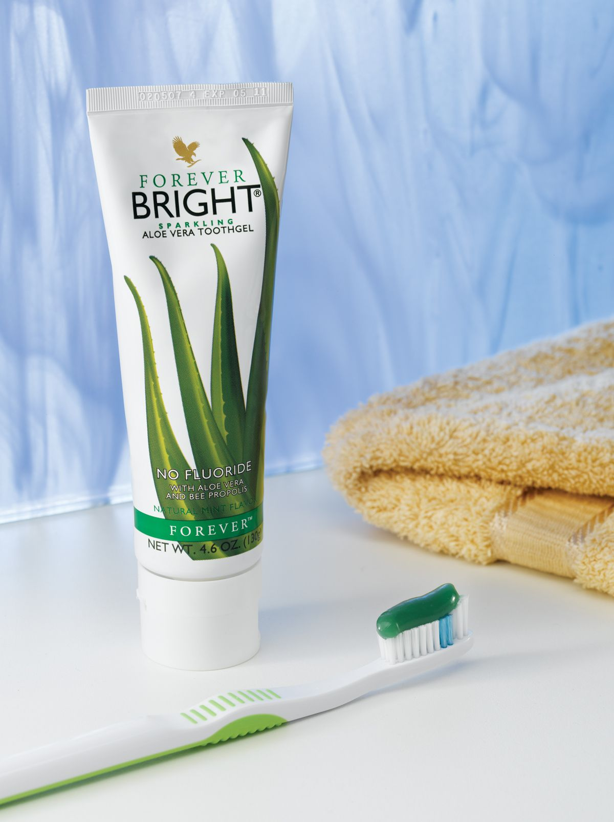 Forever bright toothgel está formulada para toda la familia no