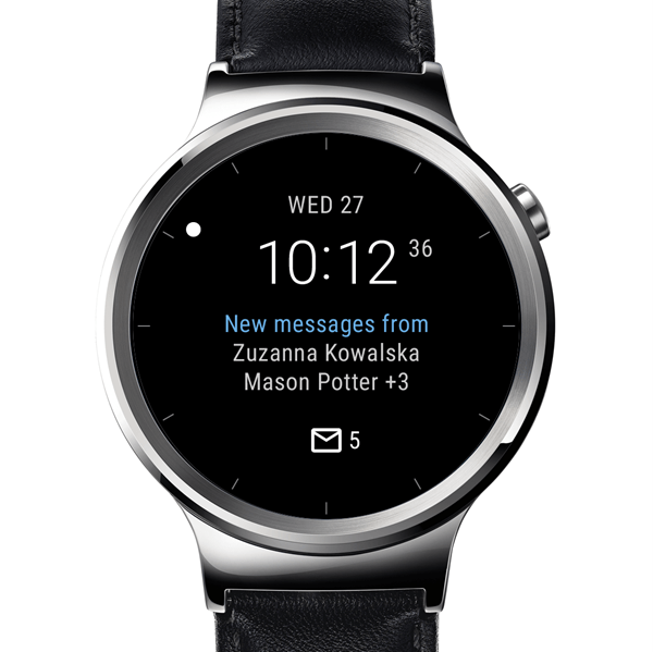 Microsoft introduce Outlook face watch para smartwatches Android Wear