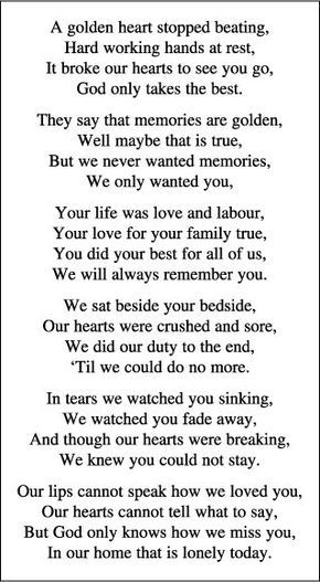 Memorial Quotes Delectable Memorial Card Quotes For Funerals Directions To Make More Money At