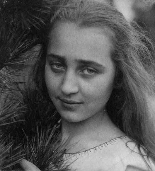 """Edward Steichen-""""Kate in Pines""""( Circa 1921)"""