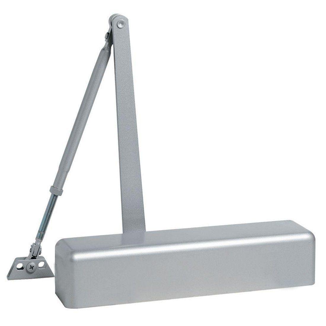 Dynasty Hardware 9000-ALUM Surface Mount Door Closer, Sprayed Aluminum…