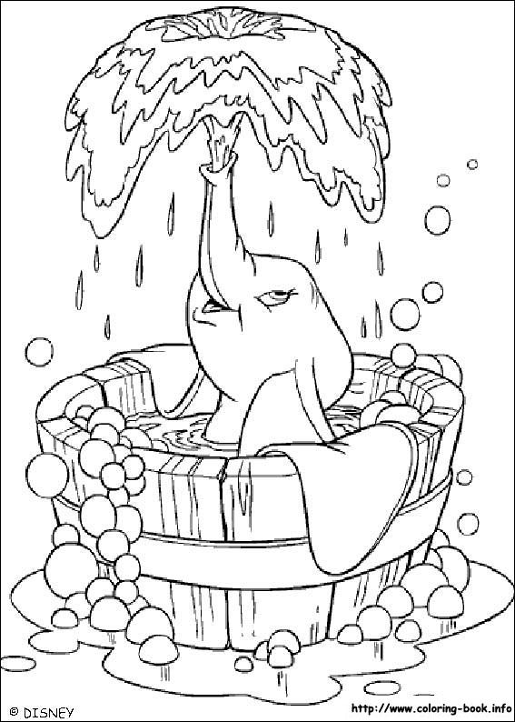 Dumbo coloring picture | coloring pages | Pinterest | Coloring books ...