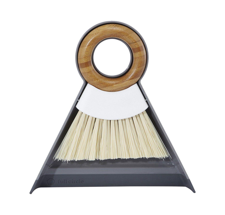 Amazon.com: Full Circle Tiny Team Bamboo Mini Brush & Dustpan Set ...