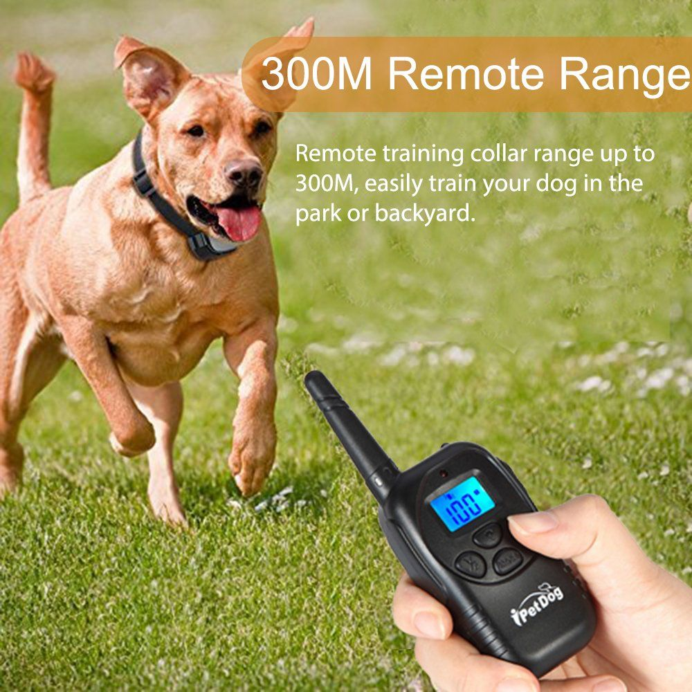 Dog Training Collar With Remote Control Waterproof Train