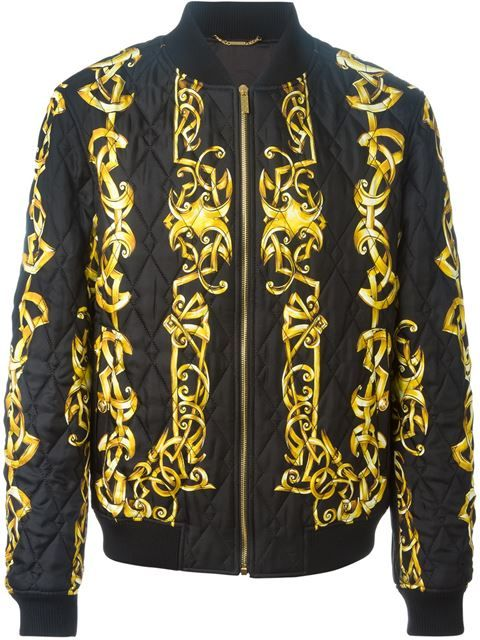 VERSACE Baroque Print Bomber Jacket.  versace  cloth  jacket ... 152c6bc2b85