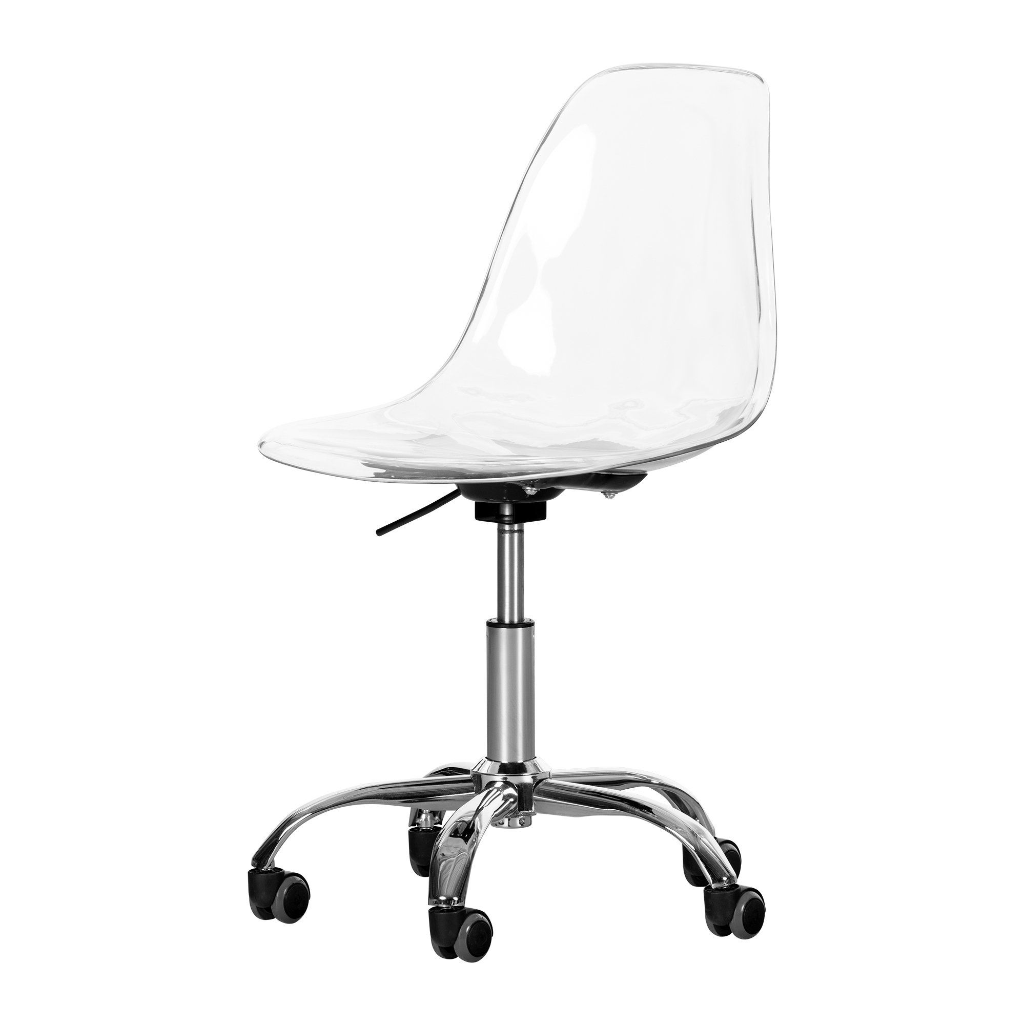 Contemporary Clear Office Chair Annexe Clear Office Chair Clear Chairs Acrylic Chair