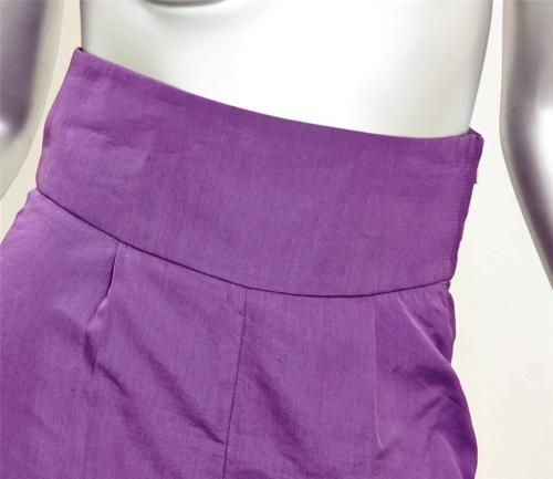 Women Purple Shorts