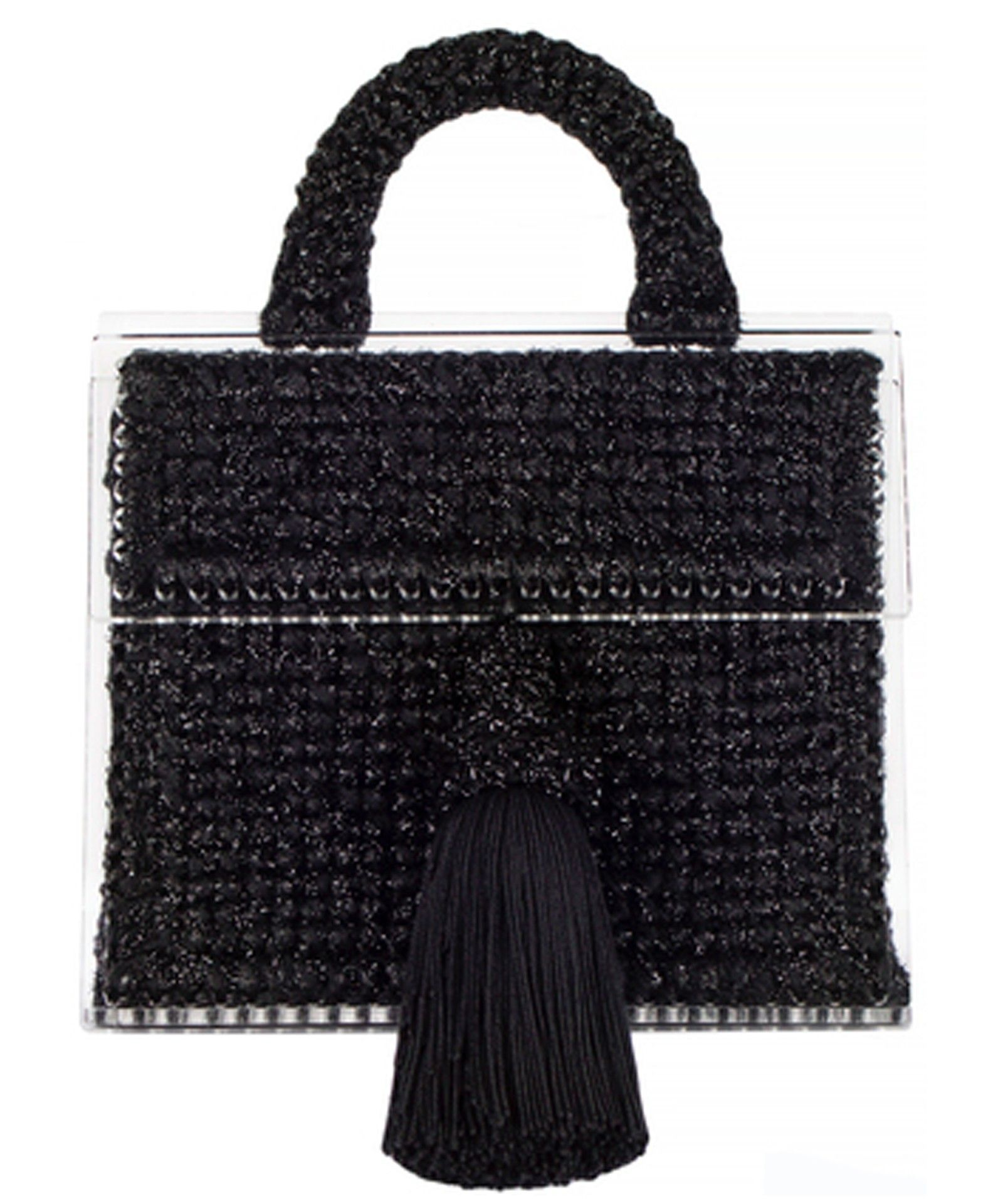 Copacabana large woven handbag - Black 0711 IbGnWev3R