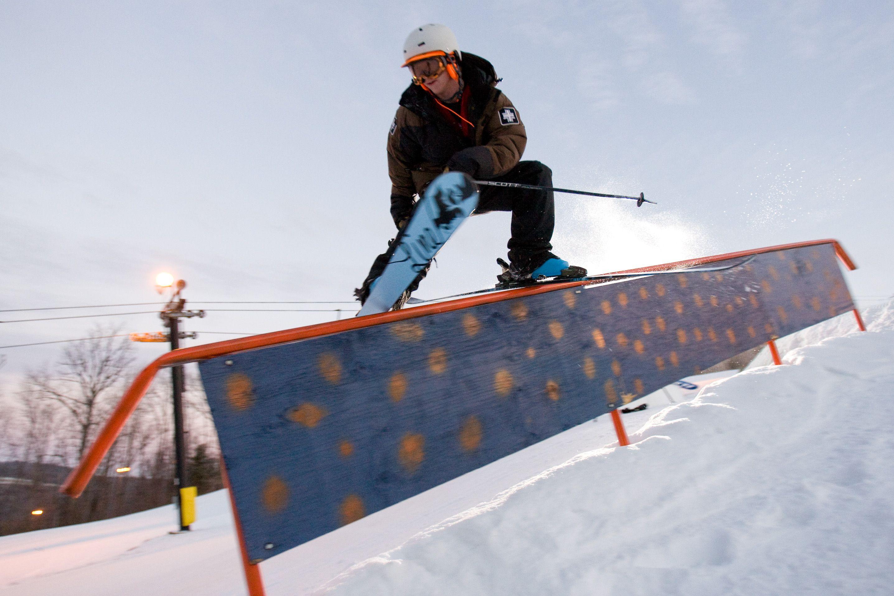 Rail Jam Skiing Resort Pics