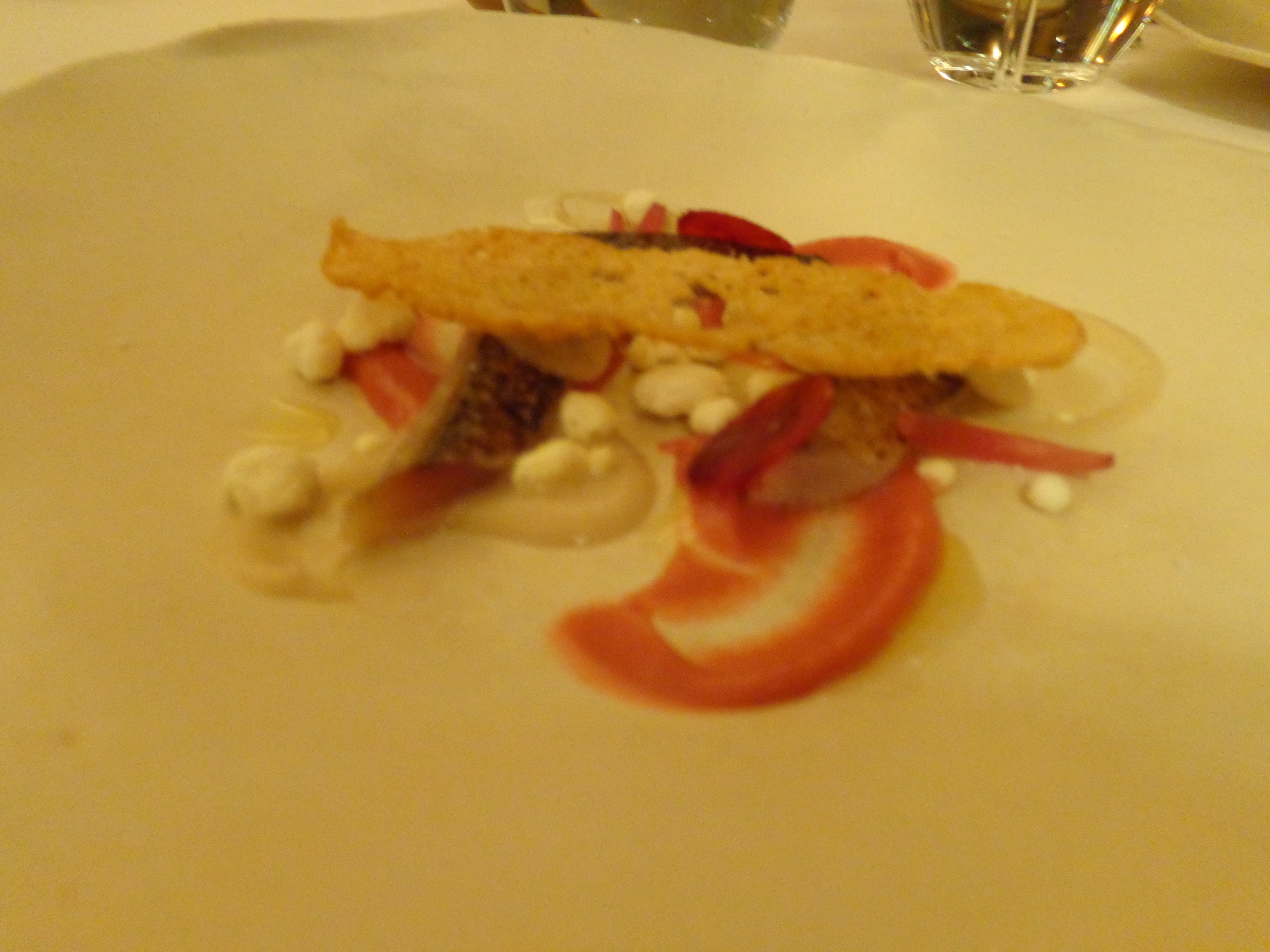 'Torricado' de cavala fumada em escabeche / smoked mackarel 'Torricado' (2014) @ Restaurant Belcanto