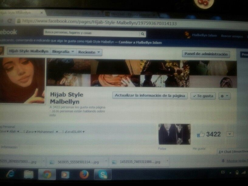 Like a mi pagina The Facebook hijab style malbellyn