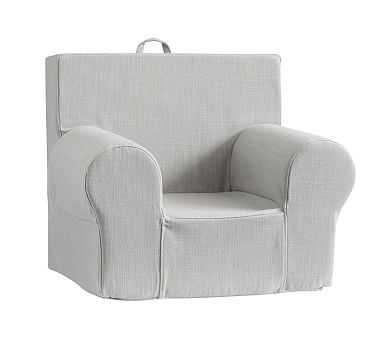 Washed Grainsack Gray Anywhere Chair(R)