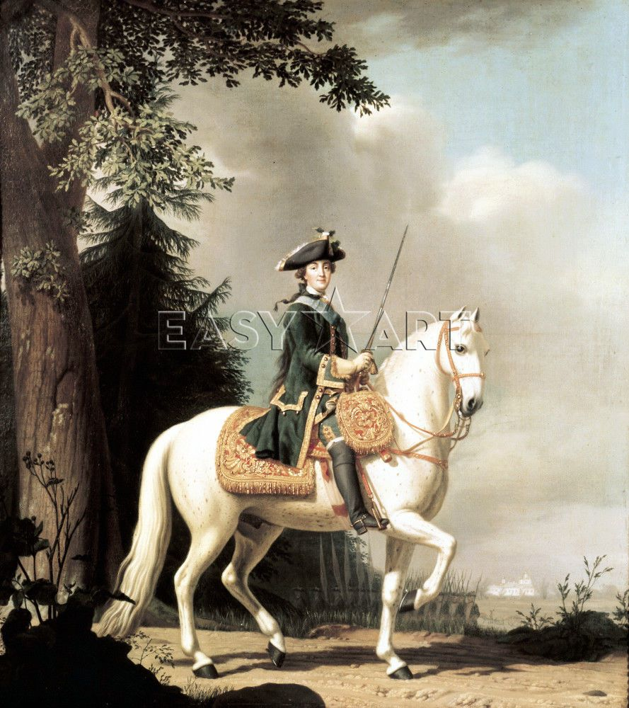 If Wishes Were Horses Horsemanship Catherine The Great Art Horse Portrait