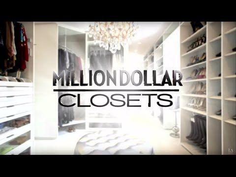 Bon Million Dollar Closets With Lisa Adams / Episode 1   YouTube