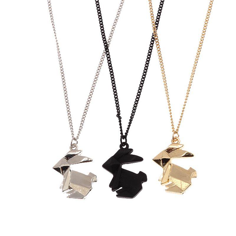 Origami Necklaces Pendants Light Ideas Light Ideas