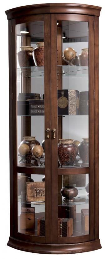 Chancellor Corner Curio Cabinet Corner Curio