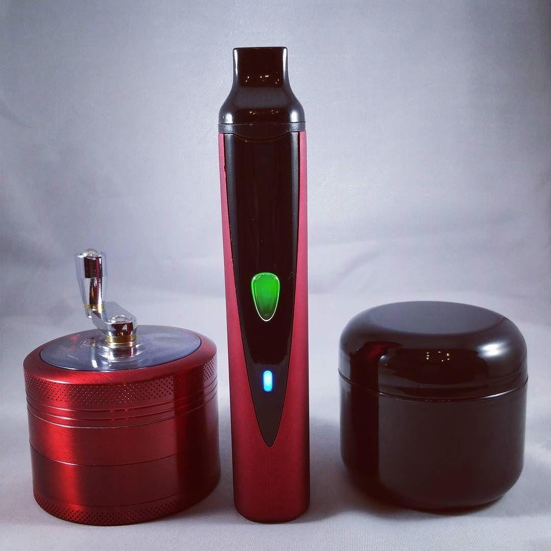 Kronic Krusher Grinder Titan Dry Herb Vaporizer 2oz Black UV