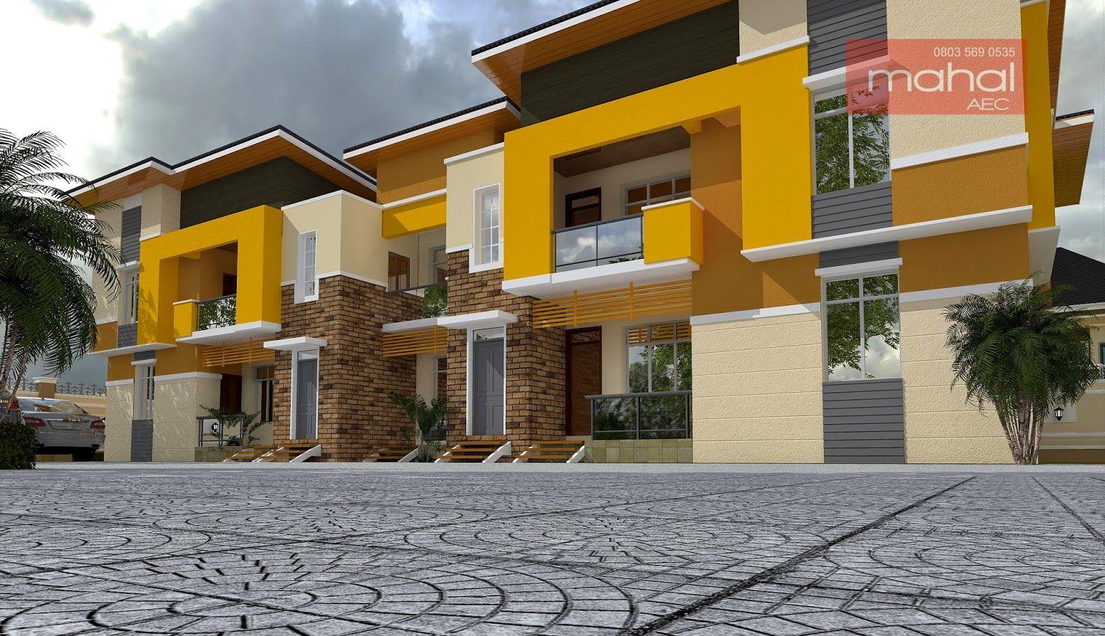 Contemporary nigerian residential architecture architecture résidentielle richesse