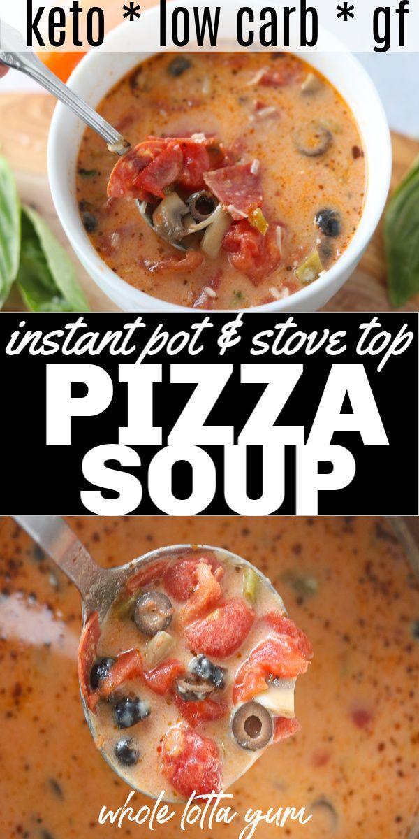 Creamy Pizza Soup Recipe (Instant Pot, Crockpot & Stovetop)