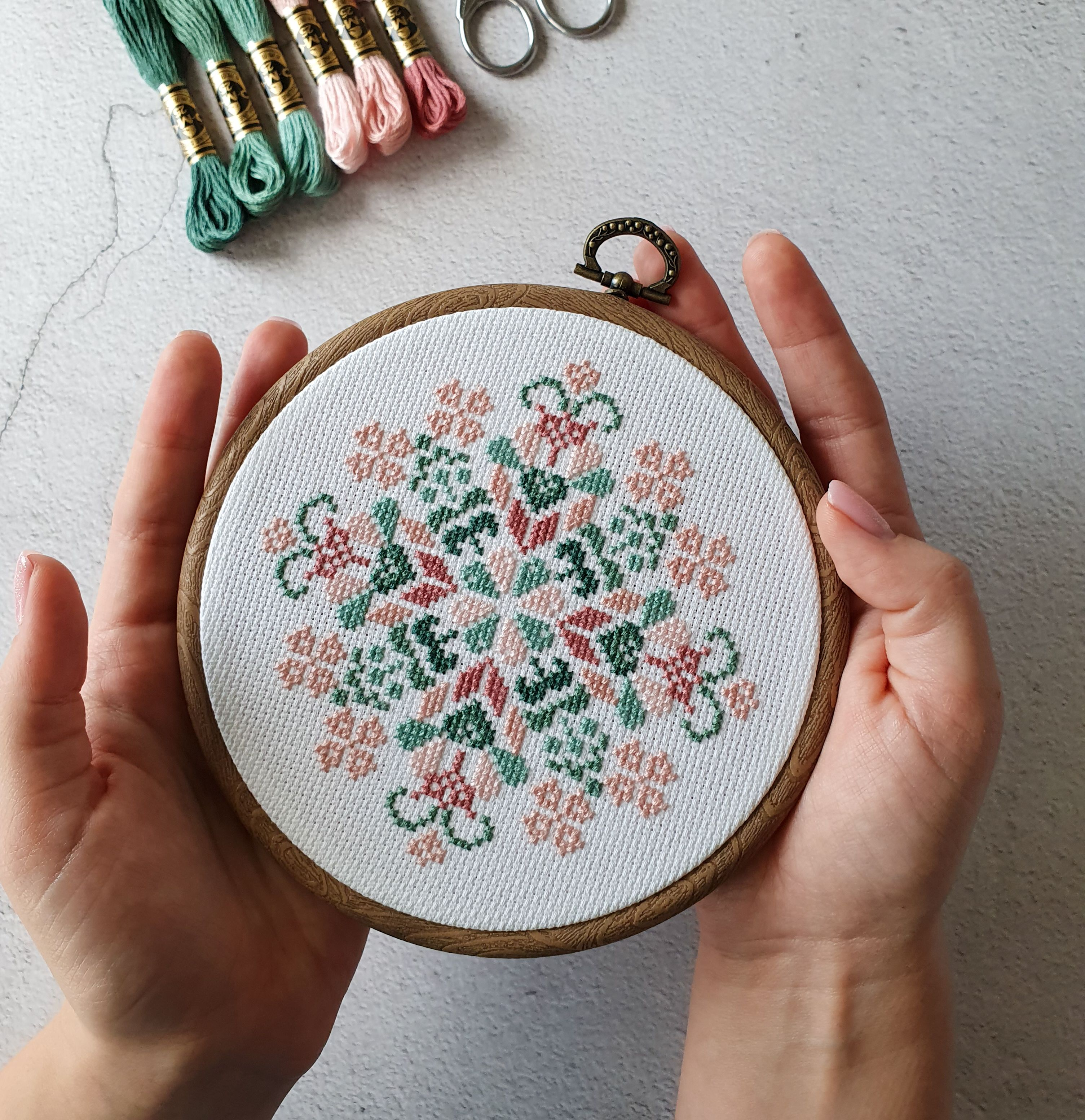 Rainbow Modern Needlepoint Beginner Mandala Animal Patterns Colorful Best Sellers Cross Stitch Patterns Set Easy Embroidery Designs