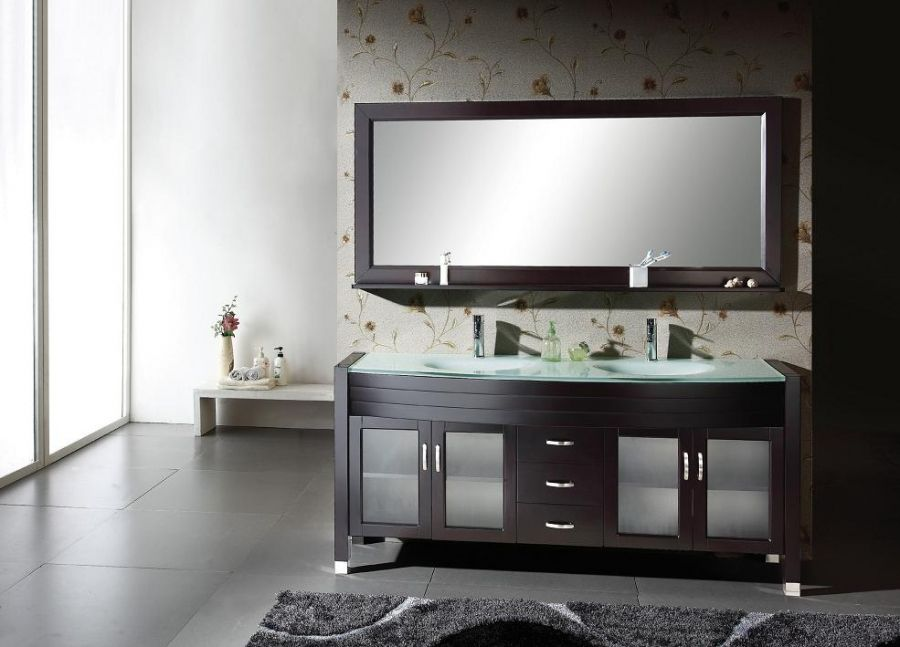 Scratch And Dent 71 Inch Double Sink Bathroom Vanity From Scratch And Dent  Kitchen Cabinets