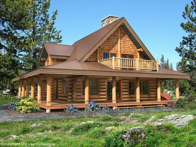 Edgewood Log Home Design By The Log Connection Log Home Designs Log Homes Log Home Plans
