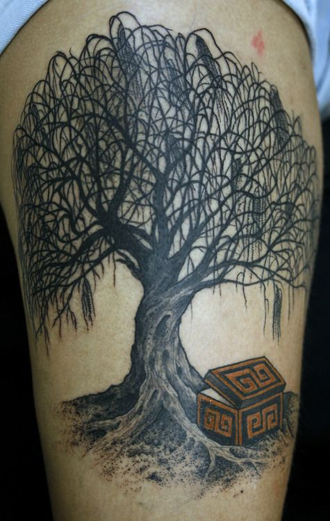 tattoos willow tree | images of weeping willow black ...Weeping Willow Black And White Tattoo