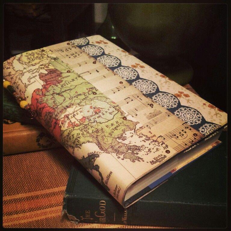 Diy scrapbook paper book cover scrapbook paper books