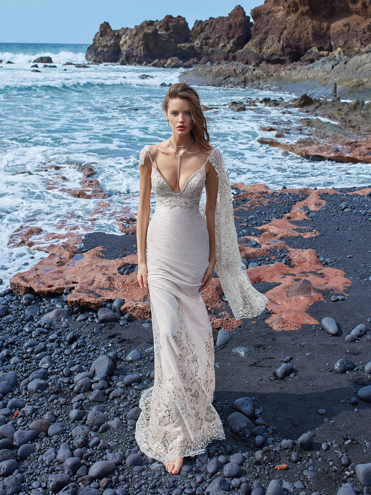 What a stunning view we have here the latest galia lahav wedding