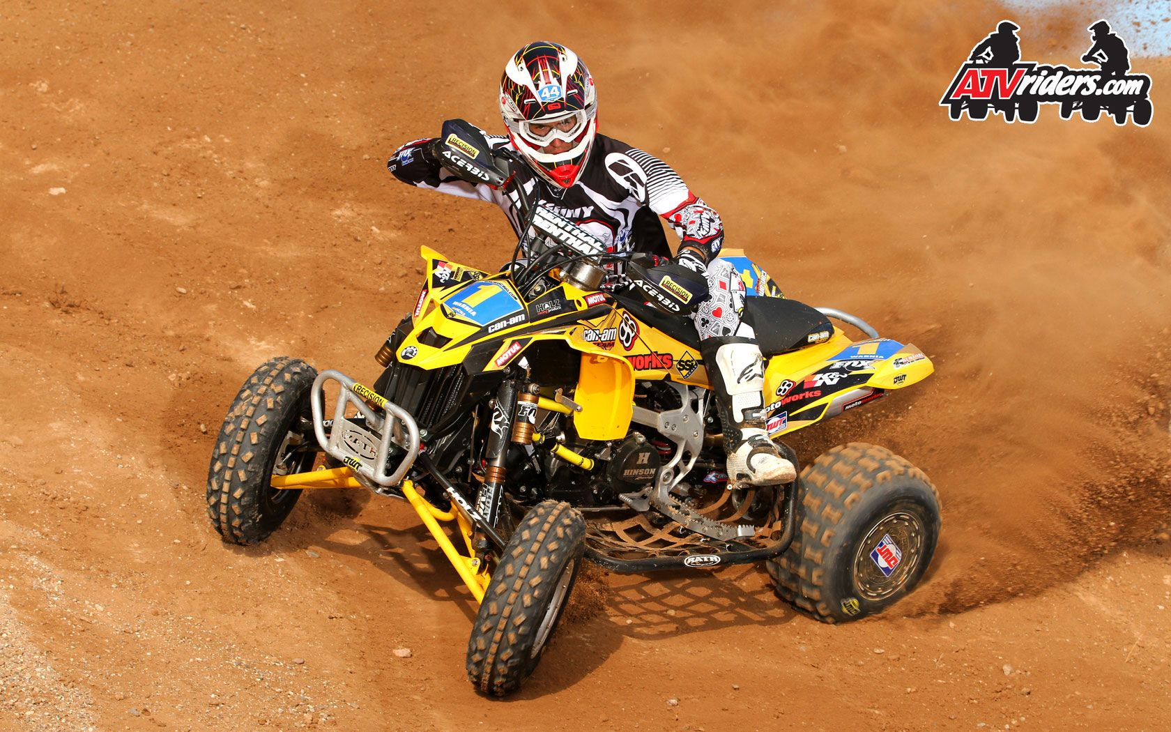 Can Am Ds 450 >> Atvriders Com Precision Racing S Jeremie Warnia Can Am