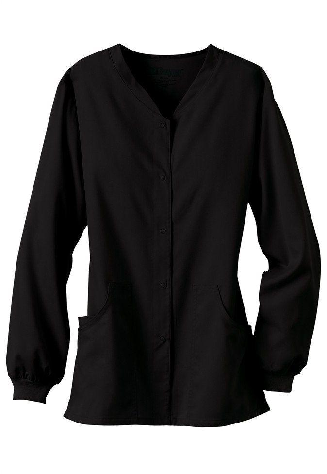 Greys Anatomy V Neck Scrub Jacket Black Scrubs Amp Beyond