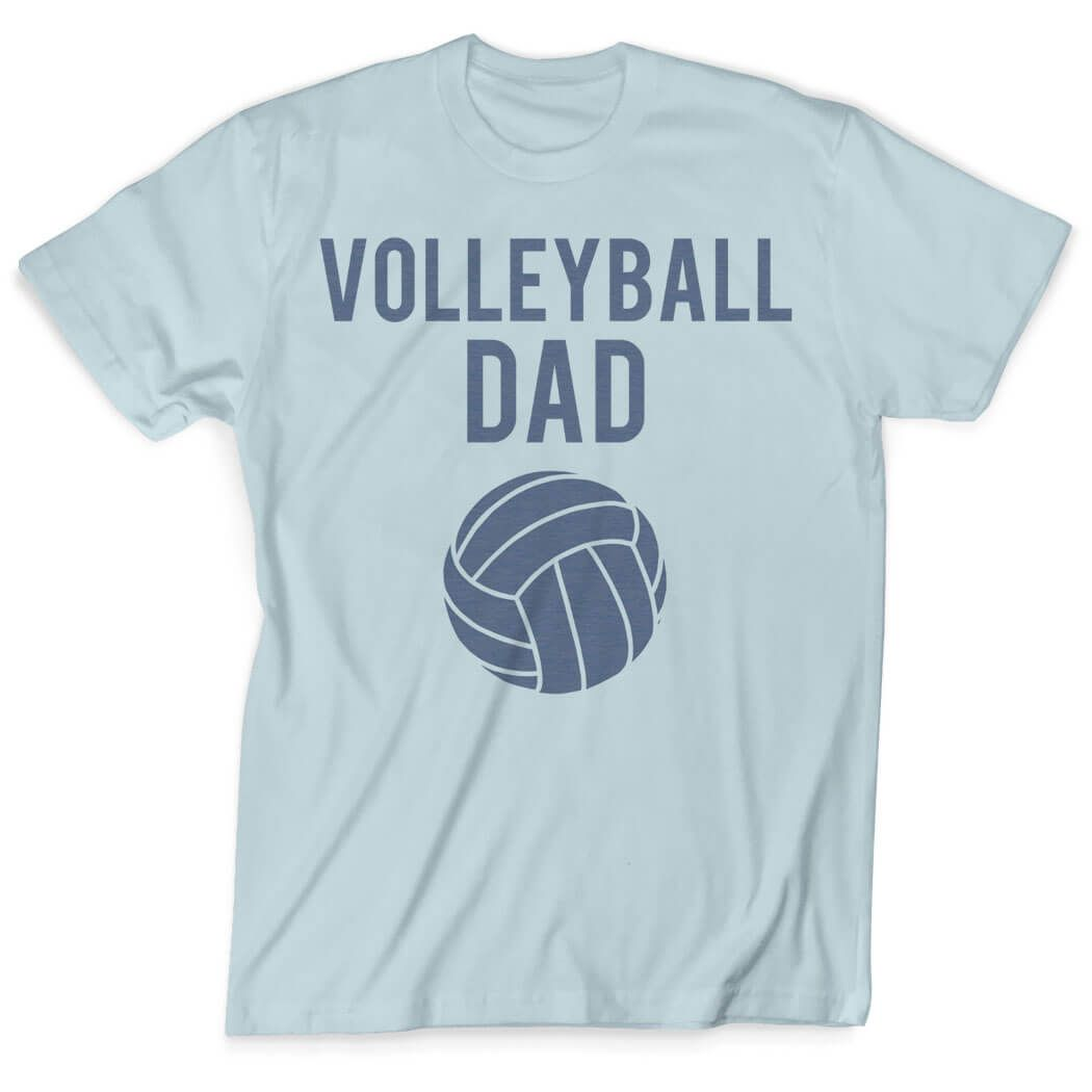 Volleyball Dad Vintage T Shirt Volleyball Dad Light Blue Men S L Volleyball Dad Apparel Dad Outfit Shirts T Shirt