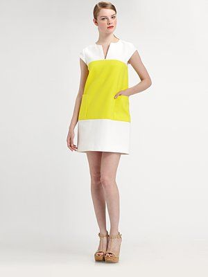 Kate Spade New York - Colorblock Shift Dress - Saks.com#SaksLLTrip. Summer dress for success.