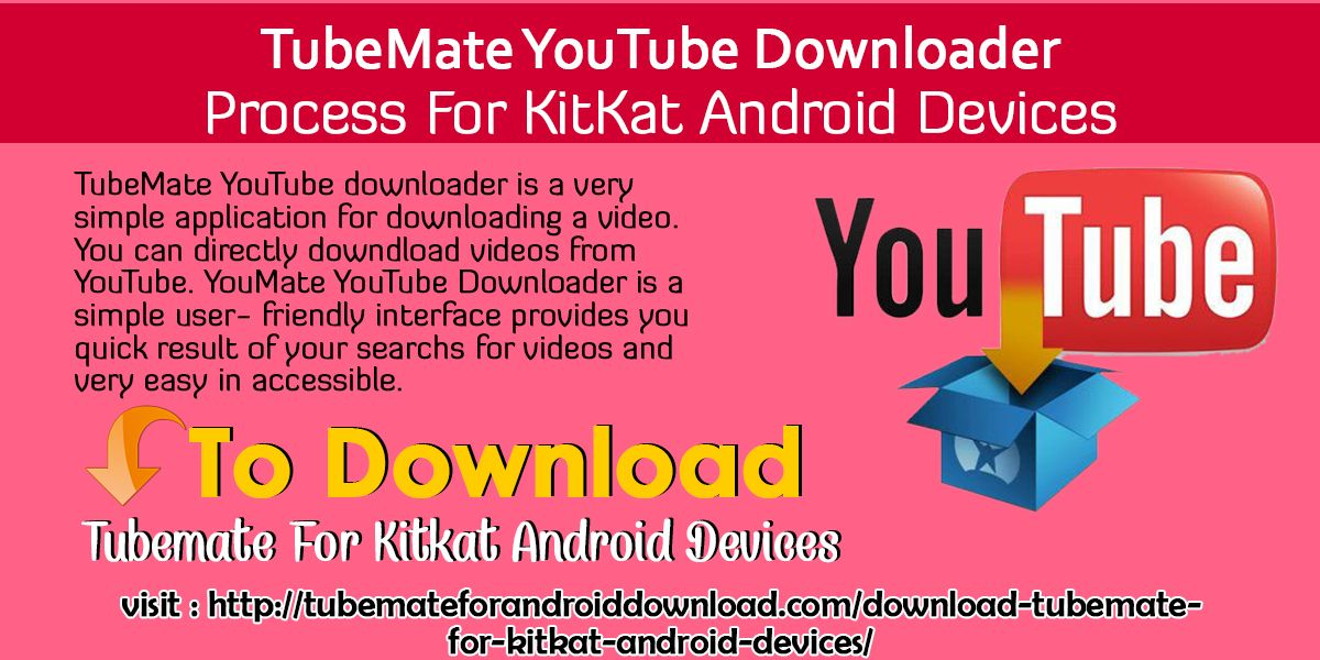 TubeMate YouTube downloader is a very simple application