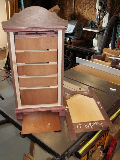 18th Century Spice Cabinet By 21st Century Woodworking Spice Rack
